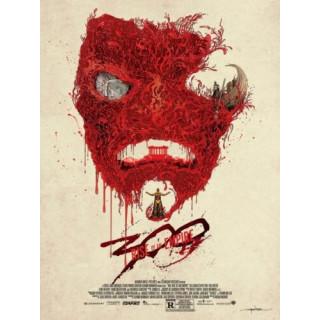 300 Rise of an Empire movie film metal tin sign poster plaque