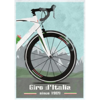 Giro d'Italia 2017   vintage metal tin sign wall plaque
