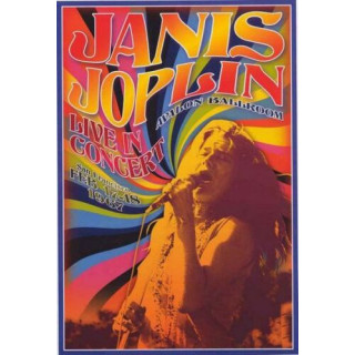 Janis Joplin 1967   music metal tin sign poster wall plaque