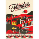 Tour of Flanders  Cycling  vintage metal tin sign wall plaque
