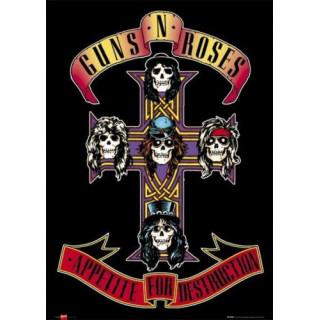 Appetite for Destruction Guns N' Roses  metal tin sign poster wall plaque
