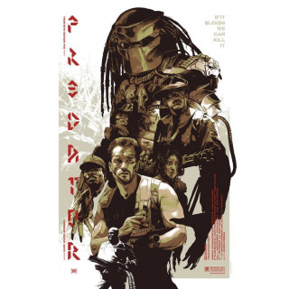 Predator 1987 Sci-Fi  movie film metal tin sign poster plaque