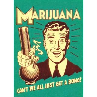 Marijuana  funny nostalgic metal tin sign poster