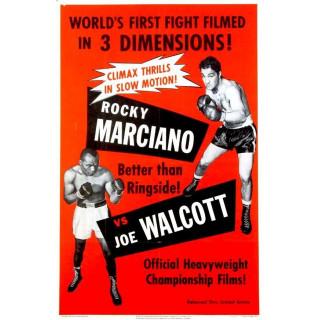 Jersey Joe Walcott vsbRocky Marciano boxing metal tin sign wall plaque