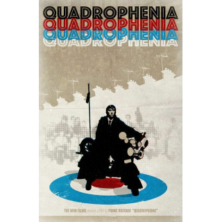 Quadrophenia    movie film metal tin sign poster plaque