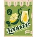 Delicious Lemonade vintage drink metal tin sign poster wall plaque