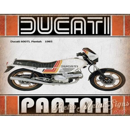 ducati-600tl-pantah-1985-metal-tin-sign