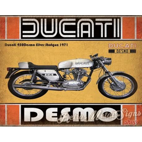 ducati-450-desmo-silver-shotgun-1971-tin-sign