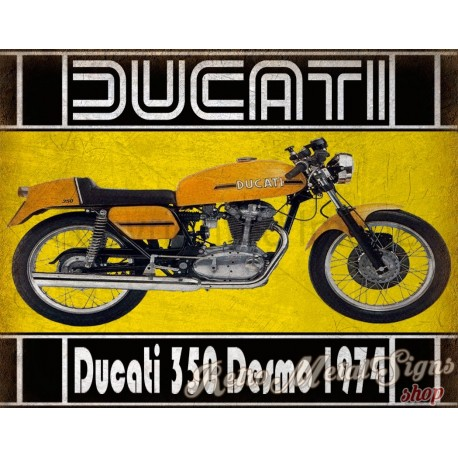 ducati-350-desmo-1974-metal-wall-sign
