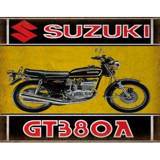suzuki-gt380a-motorcycle-metal-tin-sign