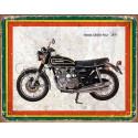 Honda CB500 Four 1977  motorcycle advertising plaque metal tin sign poster