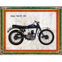 Greeves Trials 20T 1955   vintage garage  plaque metal tin sign poster