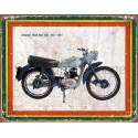 Greeves Fleet Star 20D 250 1957    vintage garage  plaque metal tin sign poster