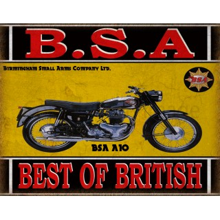 bsa-a10-motorcycle-vintage-metal-tin-sign