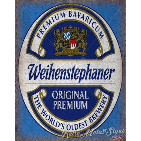 weihenstephaner-beer-vintage-metal-sign