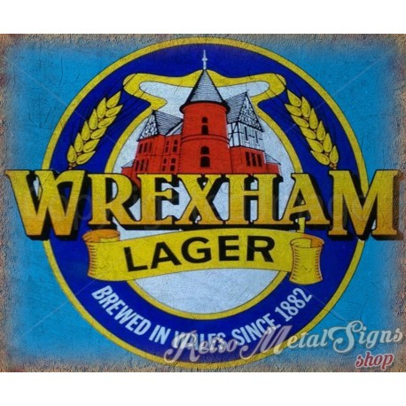 wrexham-lager-beer-vintage-metal-sign