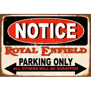 royal-enfield-motorcycles-parking-vintage-metal-tin-sign