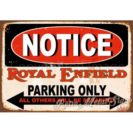 royal-enfield-motorcycles-parking-vintage-metal-tin-sign