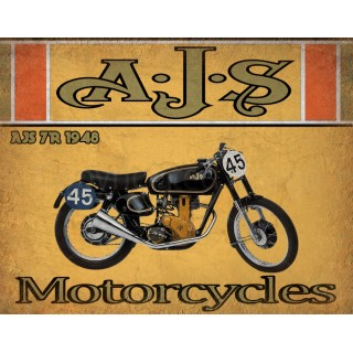 ajs-7r-1948-motorcycle-vintage-metal-tin-sign