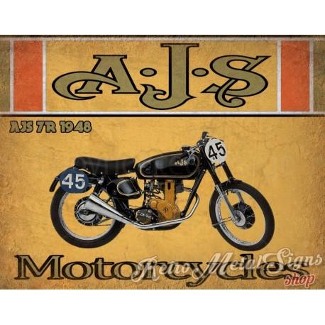 ajs-7r-1948-motorcycle-vintage-metal-tin-sign