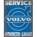 Volvo  Service vintage metal tin sign wall plaque