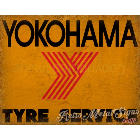 yokohama-tyre-service-vintage-metal-tin-sign
