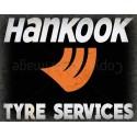 Hankook Tyre Service vintage metal tin sign wall plaque