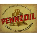 Pennzoil Motor Oil vintage metal tin sign wall plaque