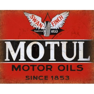Motul Motor Oil vintage metal tin sign wall plaque