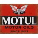 Motul Motor Oil vintage metal tin sign wall plaque