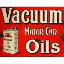 Mobiloil Mobil Motor Oil vintage metal tin sign wall plaque
