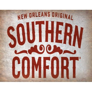 Southern Comfort  whiskey vintage alcohol metal tin sign poster