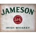 John Jameson Irish whiskey vintage alcohol metal tin sign poster