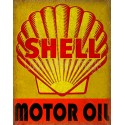 Shell Motor Oil vintage metal tin sign wall plaque