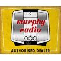 Murphy Radio vintage advertisement metal tin sign