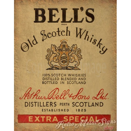 bells-old-scotch-whisky-metal-tin-sign
