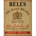 Bells Old Scotch whisky vintage alcohol metal tin sign poster