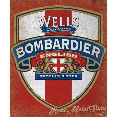 wells-bombardier-metal-tin-sign