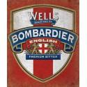Wells Bombardier English Premium Bitter  alcohol metal tin sign poster