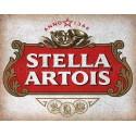 Stella Artois beer alcohol metal tin sign poster