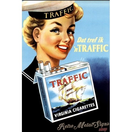 traffic-virginia-cigarettes-metal-sign
