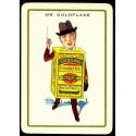 Gold Flake Cigarettes vintage tobacco  metal tin sign poster