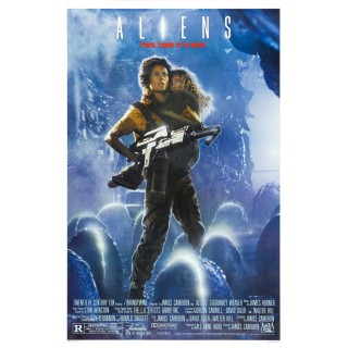 Alien 2 movie film metal tin sign poster plaque