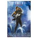 Alien 2 movie film metal tin sign poster plaque