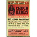 Blues Festival 65 Chuck Berry metal tin sign poster wall plaque
