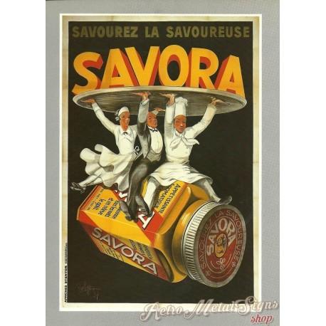 savora-mustard-vintage-french-food-metal-tin-sign