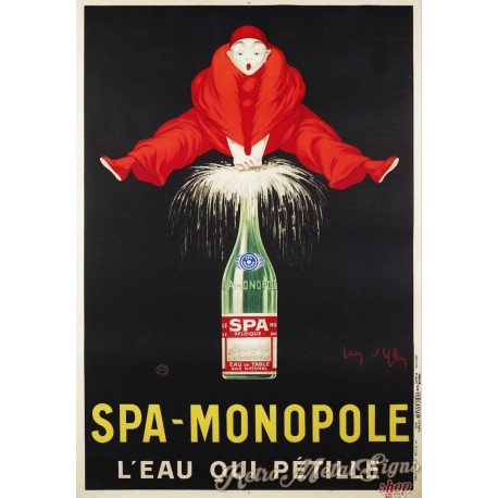 spa-monopole-vintage-drink-metal-tin-sign