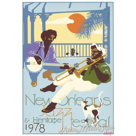 new-orleans-jazz-festival-1978-metal-tin-sign