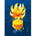 Jaffa vintage drink metal tin sign poster wall plaque
