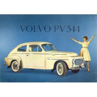 volvo-pv-544-vintage-metal-tin-sign